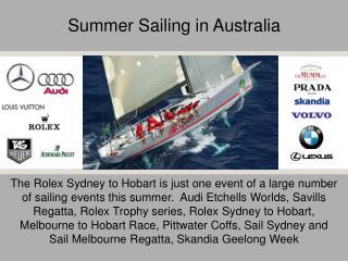 Summer Sailing in Australia