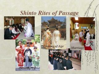 Shinto Rites of Passage