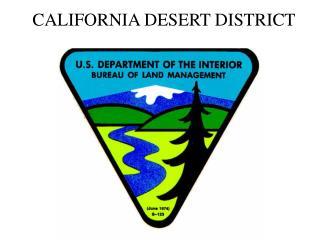 CALIFORNIA DESERT DISTRICT