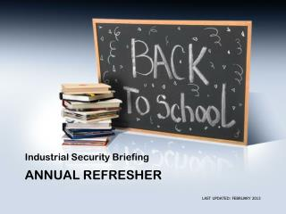 ANNUAL REFRESHER