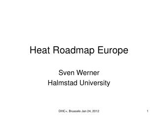 Heat Roadmap Europe
