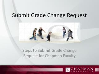 Submit Grade Change Request