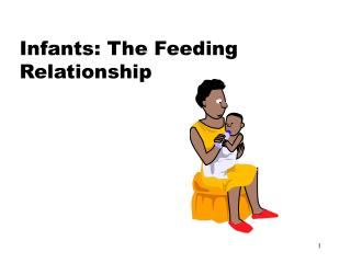 Infants: The Feeding Relationship
