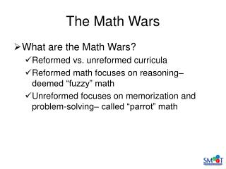 The Math Wars