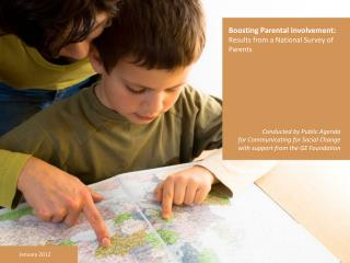 Boosting Parental Involvement: Results from a National Survey of Parents
