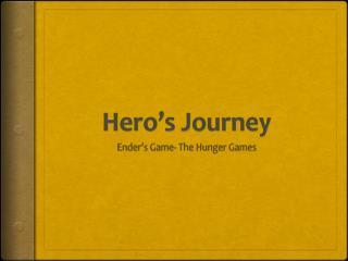 Hero�s Journey