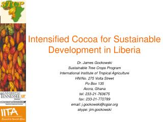 Intensified Cocoa for Sustainable Development in Liberia