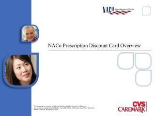 NACo Prescription Discount Card Overview