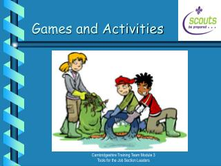 Games and Activities