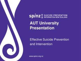 AUT University Presentation