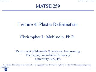 MATSE 259