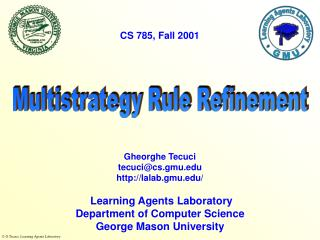 Multistrategy Rule Refinement