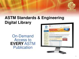 ASTM Standards & Engineering Digital Library