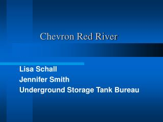 Chevron Red River