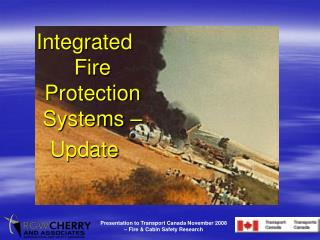 Integrated Fire Protection Systems – Update