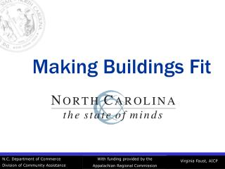 Making Buildings Fit