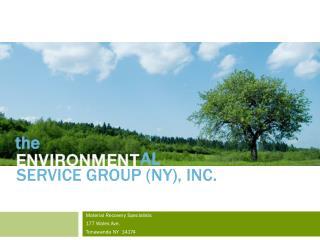 SERVICE GROUP (NY), Inc.