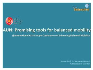 @ International  Asia-Europe Conference  on  Enhancing Balanced Mobility