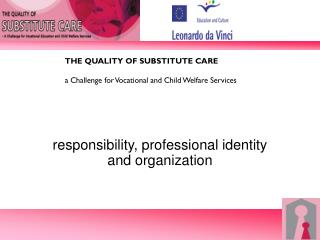 responsibility, professional identity and organization