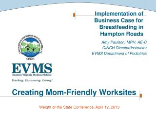 Creating Mom-Friendly Worksites