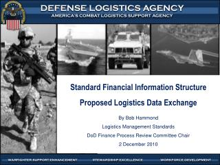 Standard Financial Information Structure Proposed Logistics Data Exchange By Bob Hammond