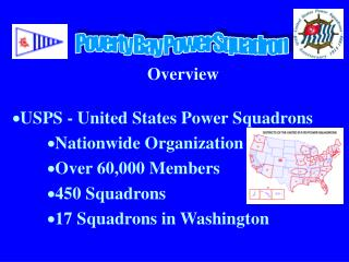 Overview USPS - United States Power Squadrons Nationwide Organization Over 60,000 Members