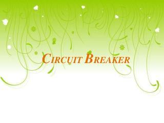 C IRCUIT  B REAKER