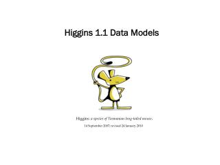 Higgins 1.1 Data Models