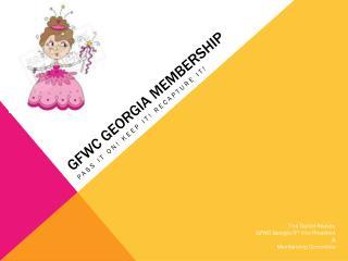 GFWC Georgia Membership