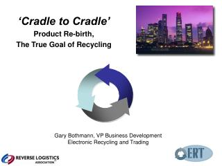 'Cradle to Cradle' Product Re-birth, The True Goal of Recycling