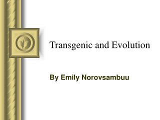 Transgenic and Evolution