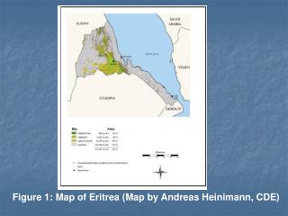 Figure 1: Map of Eritrea (Map by Andreas Heinimann, CDE)