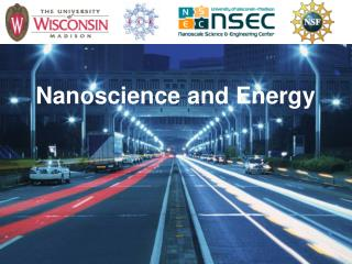 Nanoscience and Energy