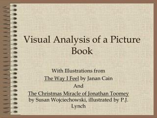 Visual Analysis of a Picture Book