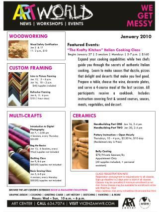 CERAMICS Handbuilding  Part ONE   Jan 16, 2-4 pm