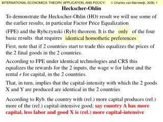 Heckscher-Ohlin