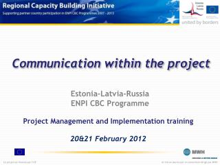 Communication  within  the project