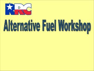 Alternative Fuel Workshop