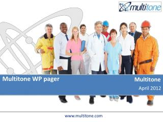 Multitone WP pager