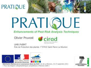 S minaire Recherche  Innovation dans les RUP, Ile de La R union, 15-17 septembre 2011   Pour des R gions ultrap riph riq
