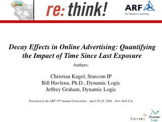 Decay Effects in Online Advertising: Quantifying the Impact of Time Since Last Exposure