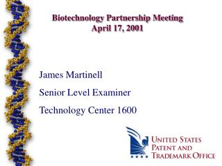 Biotechnology Partnership Meeting April 17, 2001