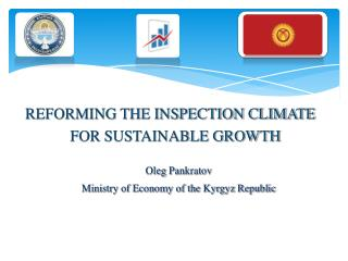 REFORMING THE INSPECTION CLIMATE FOR SUSTAINABLE GROWTH