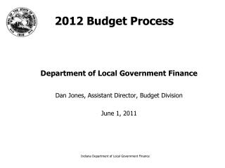 2012 Budget Process