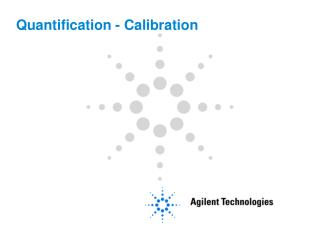 Quantification - Calibration