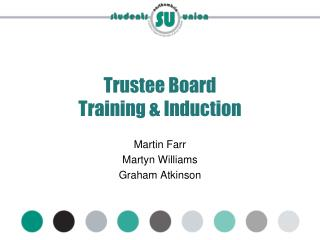 Trustee Board  Training & Induction