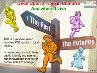 This is a module which involves KS2 pupils in local history.