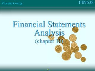 Financial Statements Analysis (chapter 10)