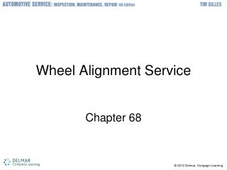 Wheel Alignment Service