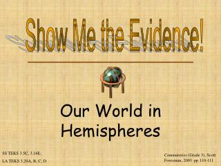 Our World in Hemispheres